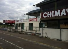 Circuit de Chimay - The pits at Chimay, which are relatively modern.
