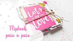En este vídeo vas a poder ver cómo crear un flipbook paso a paso con la colección Hello Love de Crate Paper. Si no sabes lo que es un flipbook, puedes ver un...