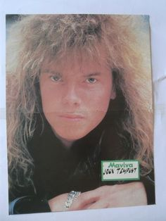 Joey Tempest Jon Bon Jovi Poster from Greek Mags clippings 1970s 1990s | eBay