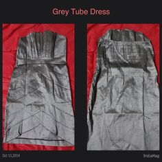 Grey Tube #Dress