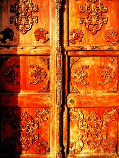 """Beautiful Doors"" They certainly are and I love the colours. S."
