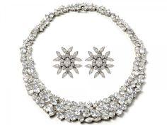 Bridal Jewelry | art-deco-wedding-jewelry-vintage-chic-bridal-style-statement-necklace ...
