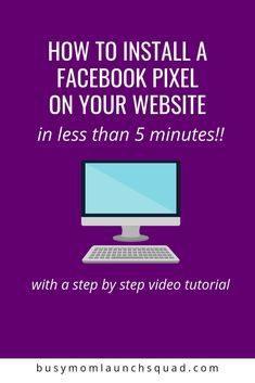 Seriously where was this post when I first tried putting Facebook pixel on my site? This makes it so quick and easy.