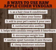 Make Your Own Raw Apple Cider Vinegar