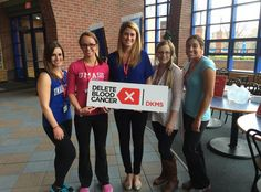 Some lovely ladies representing Delete Blood Cancer at @umasslowell! Want to get involved? CLICK to learn more!