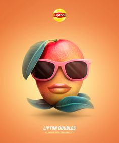Characters and social strategy designed for the new Lipton double Iced Teas.