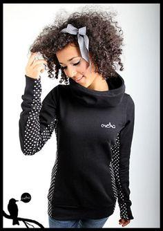 """Hoodies - MEKO Hoodie """"YEAH_1Herz1"""" - ein Designerstück von meko bei DaWanda"""