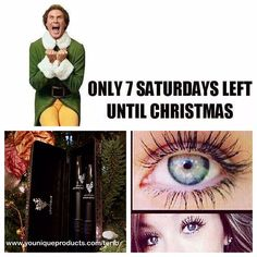 Only 7 Saturdays left before Christmas!! I don't know about you but I do 90% of my #shopping all online. Don't stress a happy time of year; order today for the stocking stuffers. #Mascara, #lipgloss, #primer oh my! Start shopping today at link in bio.  #sevenmoresaturdays #holidayshopping #holidays #christmas #tistheseason #jolly #stockingsarehungbychimneywithcare #treeisup #lightson #peppermintcandlelit #spicedcoffeeinhand #makeup