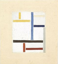 Theo van Doesburg Study for Composition XXV - Theo van Doesburg - Wikimedia Commons