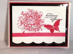 Bloom with Hope Elegant Butterfly Punch, Delicate Designs embossing folder, Stampin'Up! Hand-stamped greeting cards