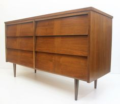 Milieu de siècle Six tiroirs persiennes commode - meubles Ward - Mid Century commode