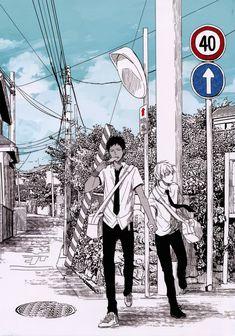 Yaoi-Knb-Kuroko e Aomine-manga
