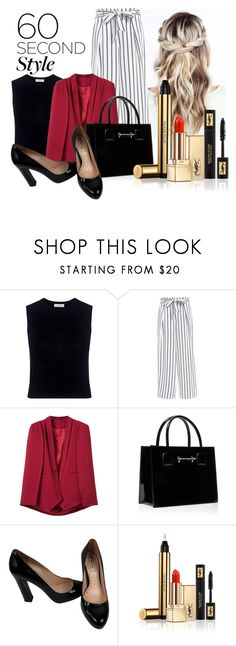 """60-Second Style: Insta-Ready"" by lululafitte on Polyvore featuring moda, A.L.C., WithChic, Miu Miu, Yves Saint Laurent, 60secondstyle y PVShareYourStyle"