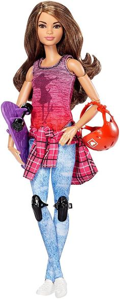 2016 Barbie Made to Move MTM Skateboarder - articulated