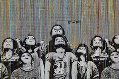 New York graffiti artists ICY - SOT, street art.