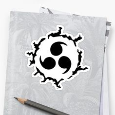'Ninja Curse Mark' Sticker by pocketdesignsar Akatsuki Shirt, Dark Art Tattoo, Canvas Prints, Art Prints, Sasuke, Anime Manga, New Tattoos, Drawing Ideas, Ninja