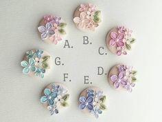 Kanzashi, Minne, Fabric Flowers, Hair Bows, Brooch, Crafts, Shibori, Jewelry, Blossoms