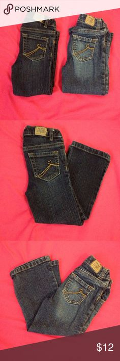 Bondle of 2 jeans for little girls size 4t Jeans for little girls Jeans Flare & Wide Leg