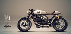 Moto Guzzi California 1400 concept by Holographic Hammer