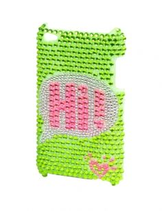 Bubble Text Bling Ipod 4 Case | Cases | Electronics | Shop Justice $18