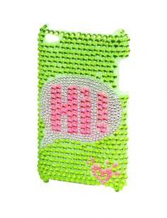 Bubble Text Bling Ipod 4 Case | Cases | Electronics | Shop Justice $18