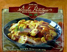 What's Good at Trader Joe's?: Trader Joe's Garlic Potatoes with Parmesan Sauce