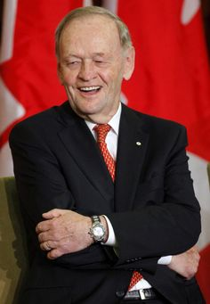 Jean Chretien, one of my favourite prime ministers