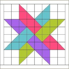 FREE tutorial for this woven star. It's the logo for Hidden Star Retreat. FREE tutorial for this woven star. It's the logo for Hidden Star Retreat. Barn Quilt Designs, Barn Quilt Patterns, Pattern Blocks, Quilting Designs, Quilting Patterns, Star Patterns, Tatting Patterns, Canvas Patterns, Star Quilt Blocks