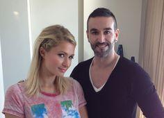 Uno de mis últimos trabajos con Paris Hilton. Hair & Make Up Art: Nando Talavera
