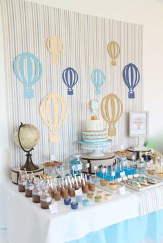 Hot Air Ballons Theme For Party