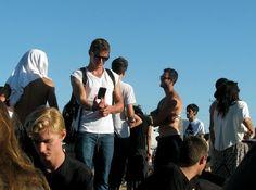 Dave Franco taking selfies (: