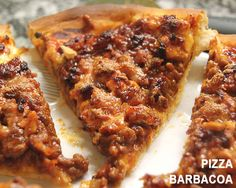 Pizza barbacoa - irresistible