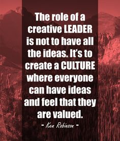 Leadership and school culture. We know they go hand-in-hand, but here is an article giving three questioning strategies principals can use to create a culture where everyone can have ideas and feel that they are valued.