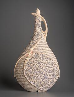 Avital Sheffer - Ceramic Art Ceramic Pitcher, Ceramic Tableware, Ceramic Clay, Ceramic Bowls, Slab Pottery, Pottery Vase, Ceramic Pottery, Pottery Sculpture, Sculpture Clay