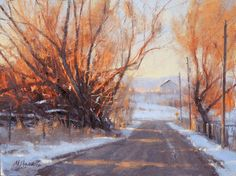 Painting My Way Through Life - Marc R. Hanson