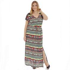Vestido Longo Plus Size Beauty » Nova Coleção