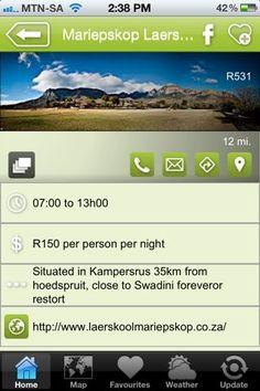 "Laerskool Mariepskop is a hAPPy place - a ""where to stay"" listing on the Hoedspruit Info App"