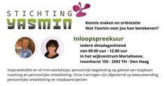 20 Sep - Stichting Yasmin in het wijkcentrum Mariahoeve - http://www.wijkmariahoeve.nl/stichting-yasmin-in-wijkcentrum-mariahoeve/