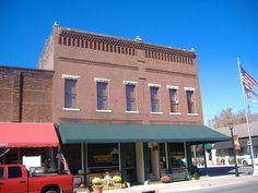 Cadiz Downtown Historic District in Trigg County, Kentucky.