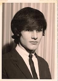 a picture of a young Burton Cummings from the early wearing a dark suit and tie with a Beatles hairdo on dark hair. and I have said he is so handsomely Cute! The Music Man, Kinds Of Music, Burton Cummings, Wolfman Jack, The Guess Who, Music Museum, Jerry Lee Lewis, Football Highlight, Rock Legends