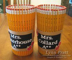Teacher Gift - Pencil Holder