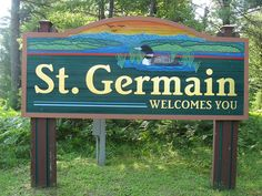 Town of St. Germain, Wisconsin -- Elmer's Go-Karts & Horseback Riding, flea market, Cathy's Ice Cream, Pub & Prime, Fibber's, Elbert's Timber Trails, Angry Dave's (we miss you!), Karaoke, Red Canoe, Camp's :)