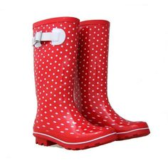 Gumboots Red and White Spot | Little Red Chick
