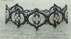 Linda's Crafty Inspirations: Bracelet of the Day: Fina Bracelet - Silver & Hematite