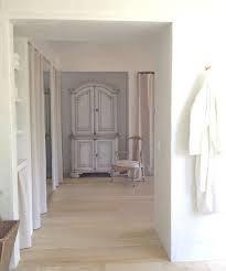 Patina Farm: Master Bathroom/Closet furniture storage and hanging rods behind curtains Master Bedroom Closet, Master Bathroom, Bathroom Closet, Cozy Bedroom, Master Bedrooms, Patina Farm, Oak Wardrobe, Decoration, Hardwood Floors