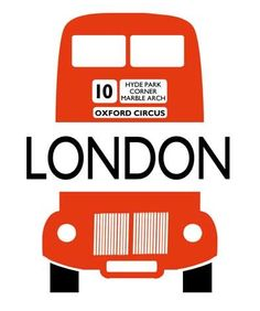 London Bus Letterpress Card from The Archivist, london, uk, united kingdom, england,  london bus, double decker bus, stationary, stationery, letterpress, the archivist,