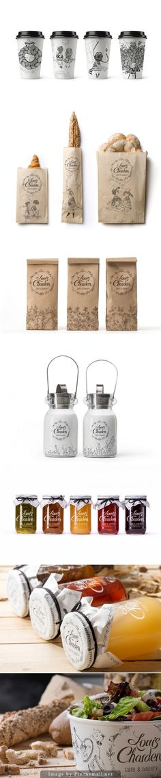 Packaging system / Louis Charden by Backbone Creative