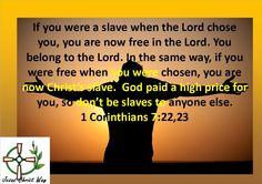 1 Corinthians 7:22,23