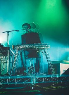 James Blake- Overgrown is a fantastic album. Plus I love his use of long exposure shots in some of his photoshoots.