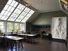 Hvitträsk Eero Saarinen, Matilda, Divider, Windows, Room, Spaces, Furniture, Design, Home Decor